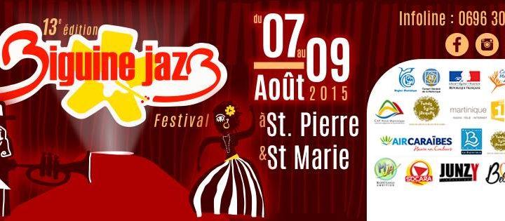 Le programme du Biguine Jazz Festival 2015!
