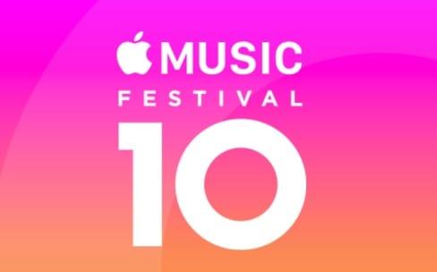 Apple Music vous fait vivre son festival en direct