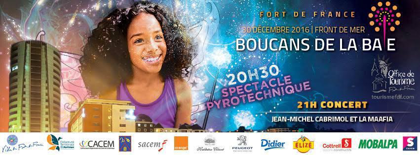 Programme de la 18e édition des Boucans de la Baie – Martinique FDF le 30 Decembre
