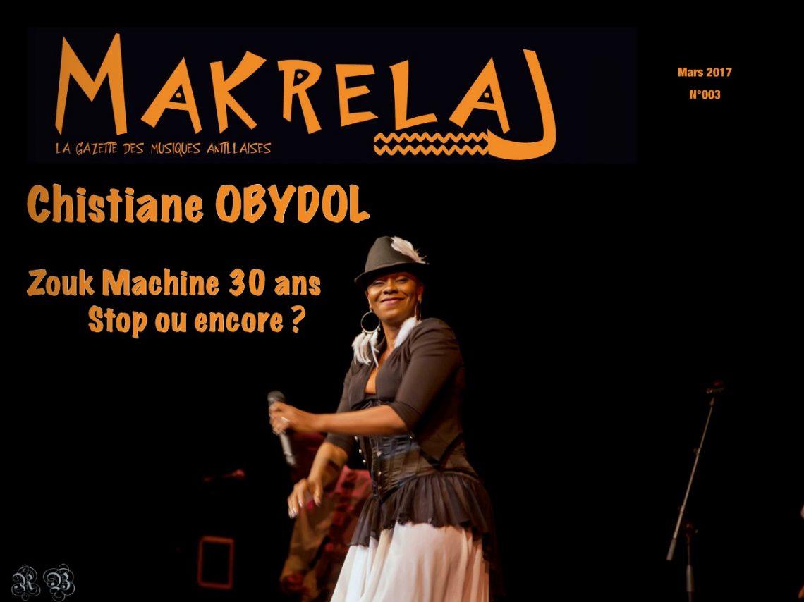 Makrelaj Magazine : «Edition Mars»