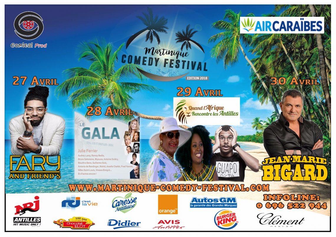 Martinique Comedy Festival annulé