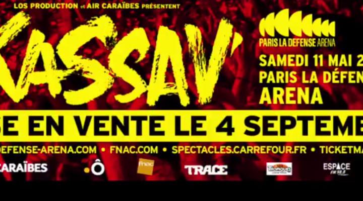 Le concert !!! Les 40 ans de Kassav  en 2019