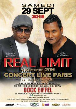 Le grand Retour de Réal Limit – Au dock Eiffel le 6 octobre