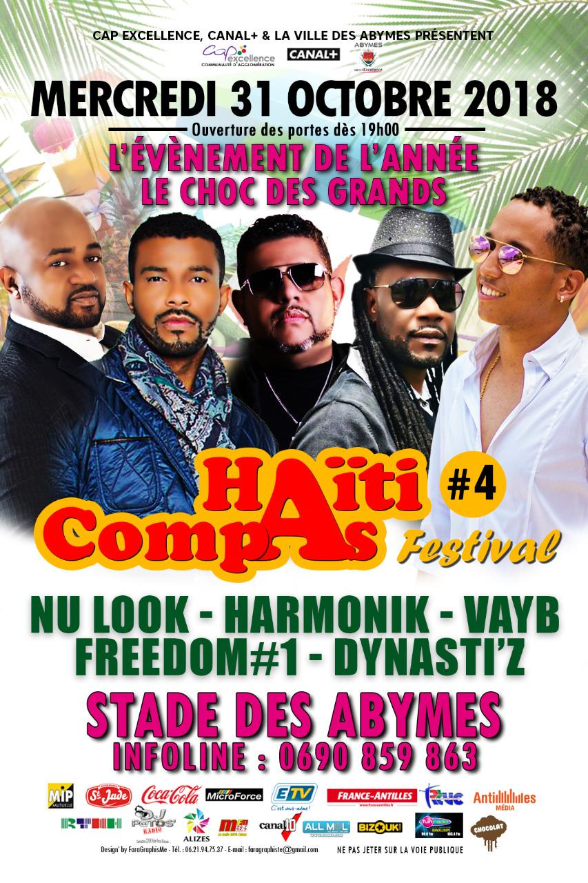 Festival compas en Guadeloupe