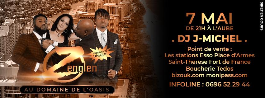 Si vous aimez la bonne musique haïtienne, voici Zenglen