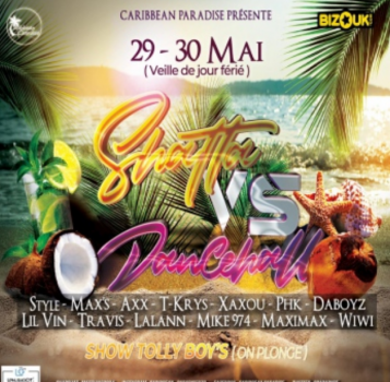 SHATTA VS DANCEHALL EDITION BEACH – TOULOUSE LE 29 MAI