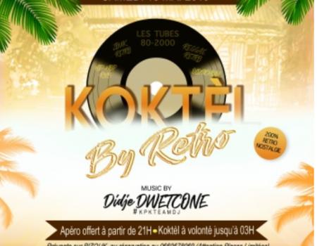 KOKTEL BY RETRO – MONTPELLIER LE 18 MAI