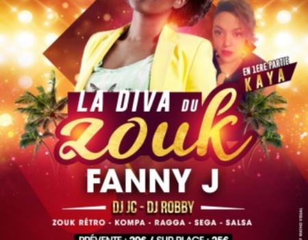 VIP RECEPTION : FANNY J – LYON SOIREE ANTILLAISE LE 30 AVRIL