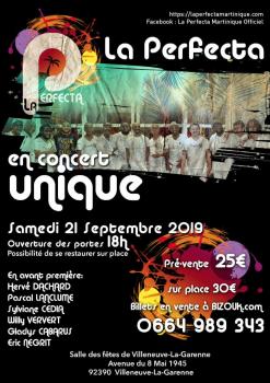 La perfecta au complet en concert – Paris le 21 septembre