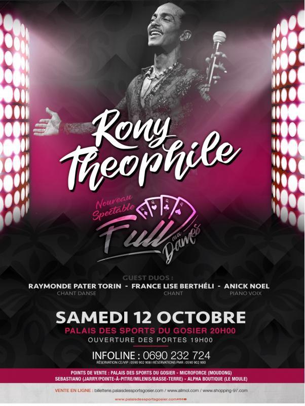 Concert Rony Théophile – Gosier 12 octobre