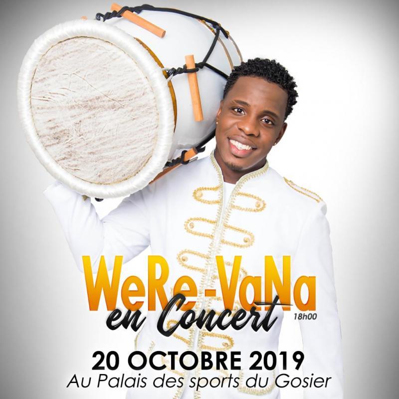 Concert WeRe-VaNa – Gosier 20 octobre