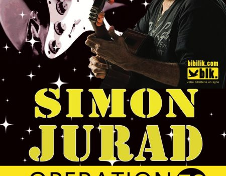 Simon Jurad à Paris…