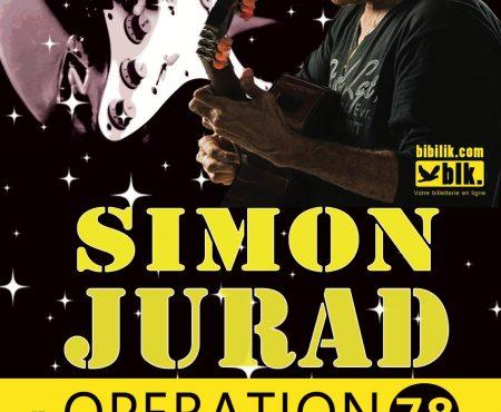 Simon Jurad à Paris…