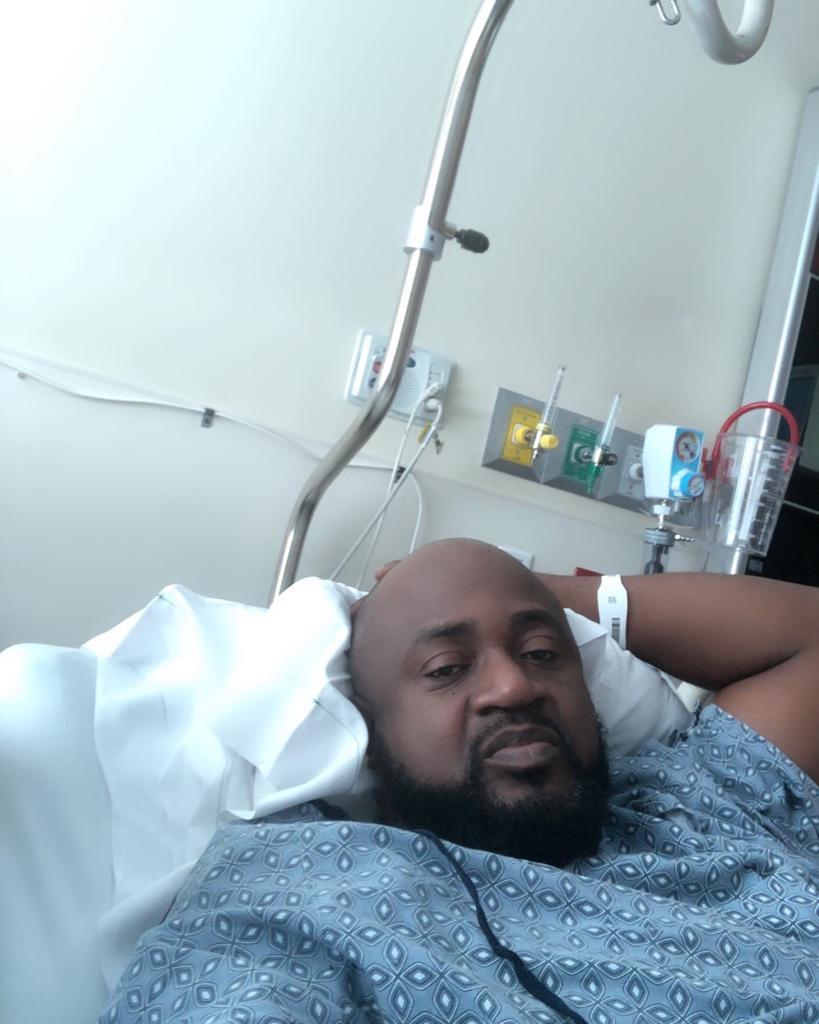 Arly Larivière hospitalisé se rétablit