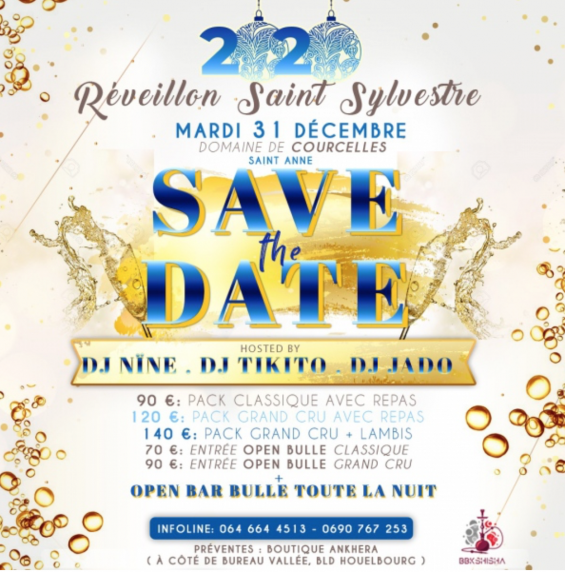 31DécembreAllInclusive- Guadeloupe Réveillon Saint-sylvestre