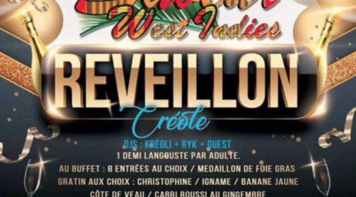 LeRéveillonCréole- Paris réveillon saint-sylvestre