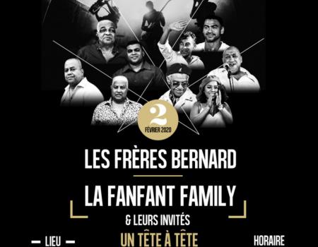Les frères Bernard – La Fanfan Familly – Martinique le 2 février
