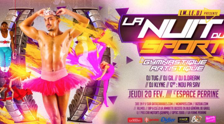 La nuit du sport – Soirée carnaval Martinique – 20 février