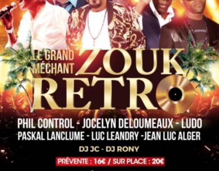 Le Grand méchant zouk rétro – Lyon le 18 janvier