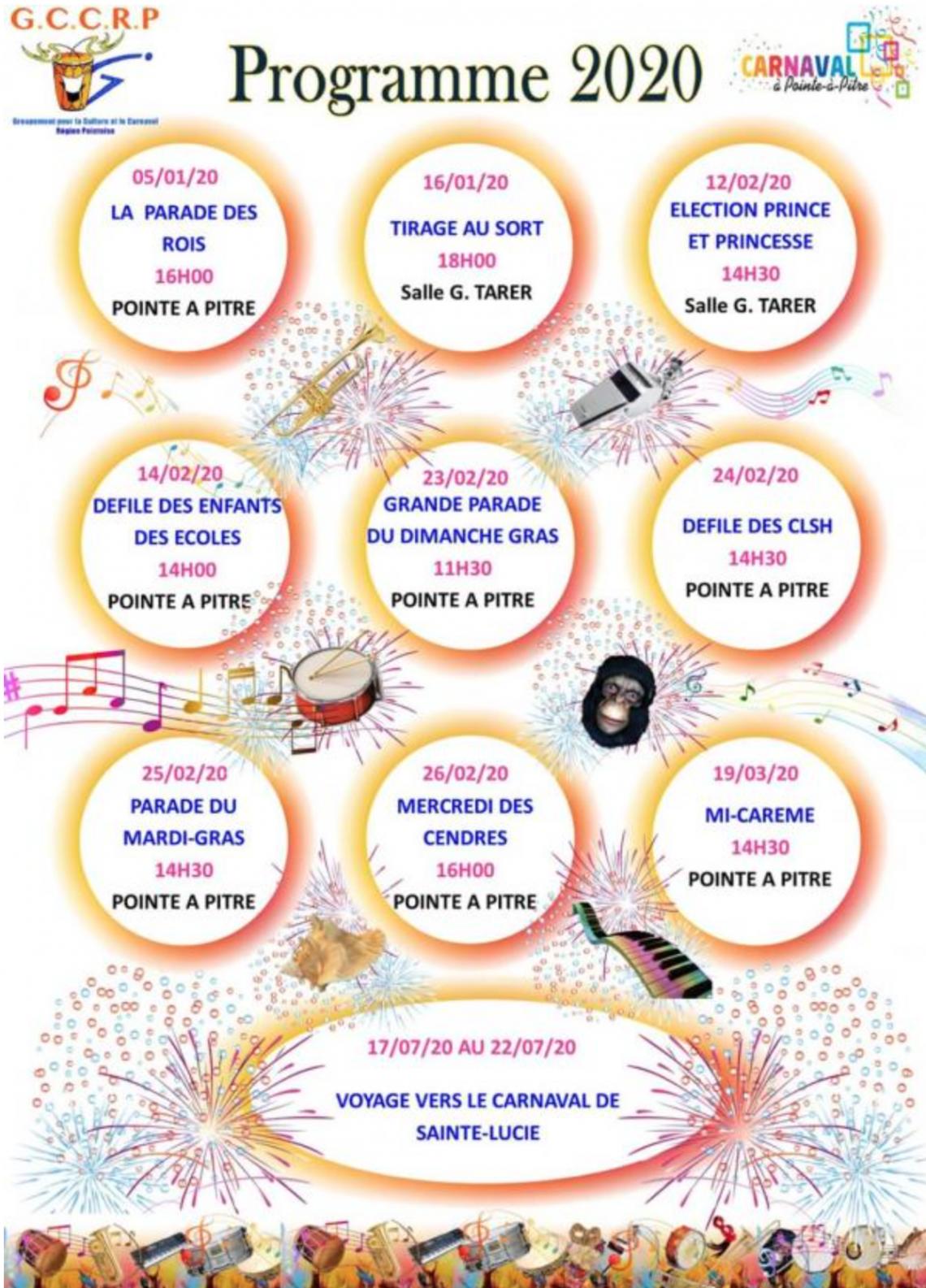 MAS KA KLÉ : MAS A LANNUIT 2020 – Carnaval Guadeloupe
