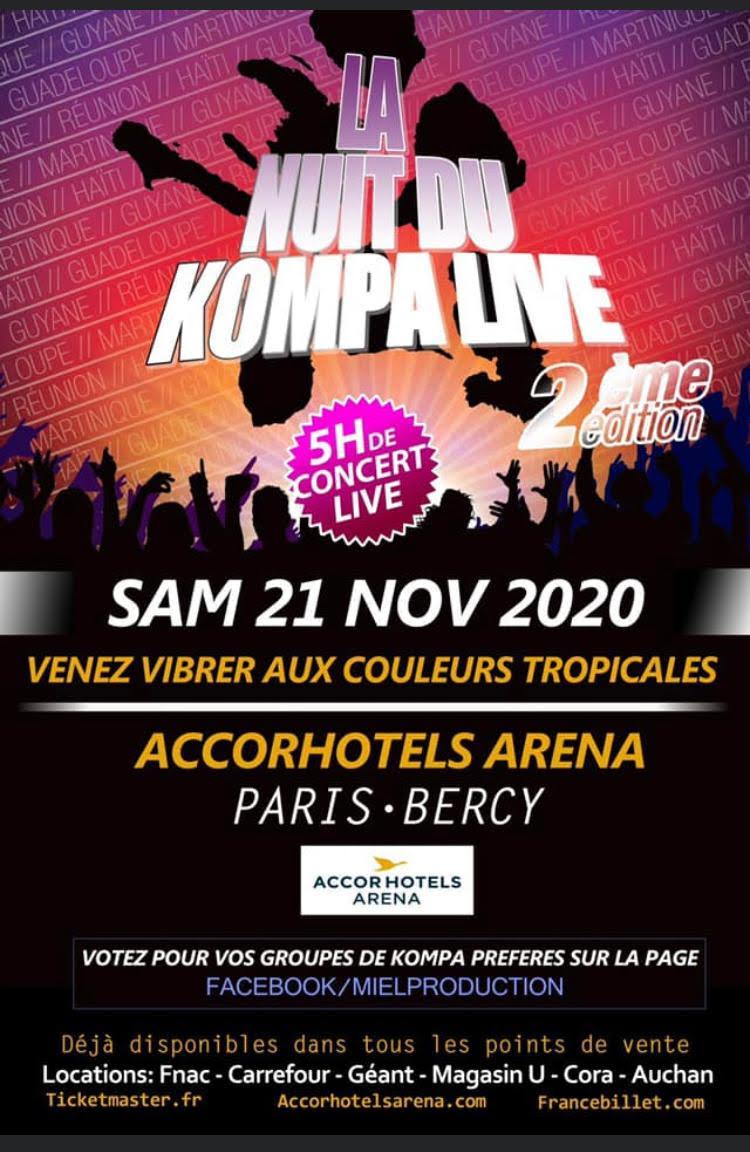 Novembre à Paris, le temps du kompa !