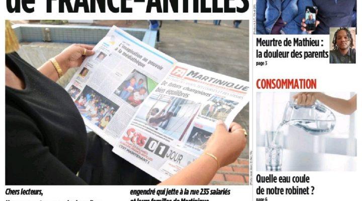 Le quotidien des Antilles Guyane liquidé