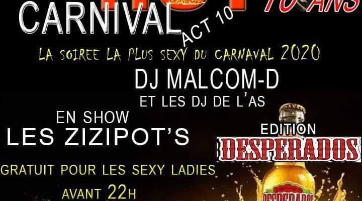 C'est carnaval tout est permis…allons y sexy !!
