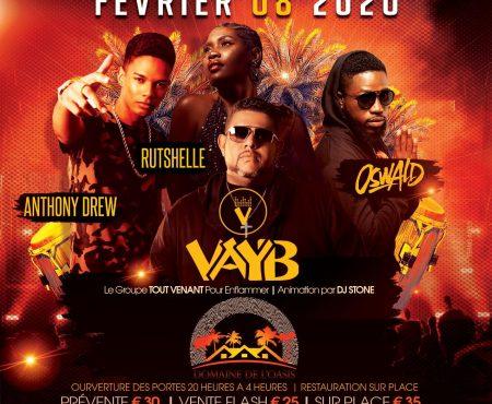 VAYB à l'OASIS… c'est Carnaval !!Ca va danser !!!