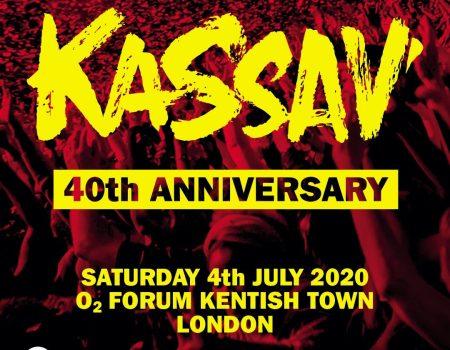 Kassav, les 40 ans c'est pas fini. London now !!