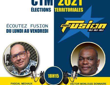 CTM, un candidat tête de liste chaque soir 18:15 sur FUSION.